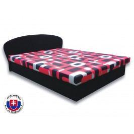 Manželská postel 160 cm - Važo - Milka 5 (s pěnovými matracemi)
