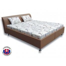 Manželská postel 160 cm - Važo - Rita - 2 (s pružinovými matracemi)