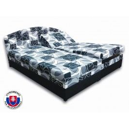 Manželská postel 180 cm - Važo - Vanesa (s pěnovými matracemi)