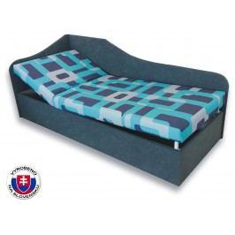 Jednolůžková postel (válenda) 90 cm - Važo - Anita (Gusto 4A + Šedá 81) (L)