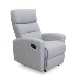Relaxační křeslo - Silas (šedá)