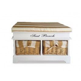 Botník (skříňka na boty) - Seat bench 4