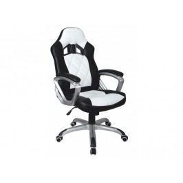Kancelářské křeslo - Lotar (černá + bílá)