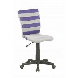 Dětská židle - - Fuego (šedá + fialová)