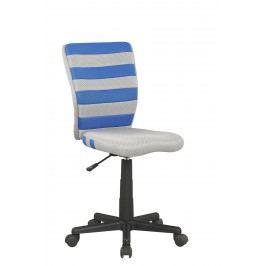 Dětská židle - - Fuego (šedá + modrá)