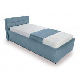 Jednolůžková postel 90 cm - BRW - Kate Futon (tyrkysová)