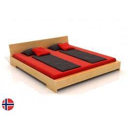 Manželská postel 160 cm - Naturlig - Lekanger (borovice) (s roštem)