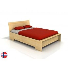 Manželská postel 180 cm - Naturlig - Lekanger High (borovice) (s roštem)