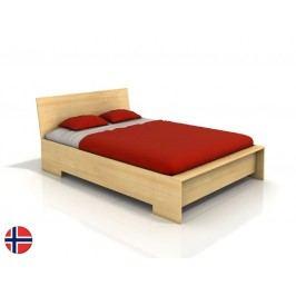 Manželská postel 200 cm - Naturlig - Lekanger High (borovice) (s roštem)