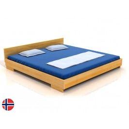 Manželská postel 160 cm - Naturlig - Larsos (borovice) (s roštem)