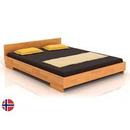 Manželská postel 160 cm - Naturlig - Larsos (buk) (s roštem)