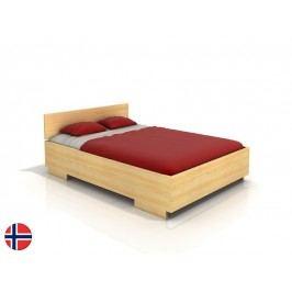 Manželská postel 200 cm - Naturlig - Larsos High (borovice) (s roštem)