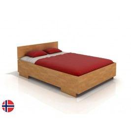 Manželská postel 160 cm - Naturlig - Larsos High (buk) (s roštem)