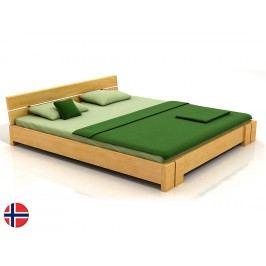 Manželská postel 200 cm - Naturlig - Tosen (borovice) (s roštem)