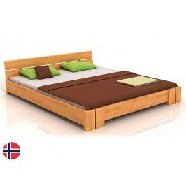 Manželská postel 160 cm - Naturlig - Tosen (buk) (s roštem)