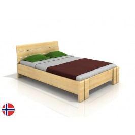 Manželská postel 160 cm - Naturlig - Tosen High (borovice) (s roštem)