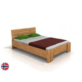 Manželská postel 200 cm - Naturlig - Tosen High (buk) (s roštem)