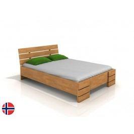 Manželská postel 180 cm - Naturlig - Lorenskog High (buk) (s roštem)