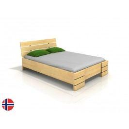 Manželská postel 200 cm - Naturlig - Lorenskog High BC (borovice) (s roštem)