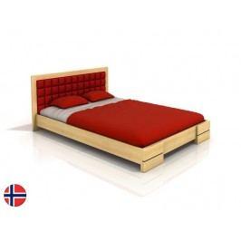 Manželská postel 200 cm - Naturlig - Storhamar (borovice) (s roštem)