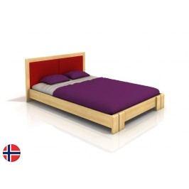 Manželská postel 160 cm - Naturlig - Manglerud (borovice) (s roštem)