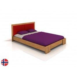 Manželská postel 160 cm - Naturlig - Manglerud (buk) (s roštem)