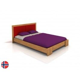 Manželská postel 200 cm - Naturlig - Manglerud (buk) (s roštem)