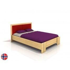 Manželská postel 160 cm - Naturlig - Manglerud High (borovice) (s roštem)