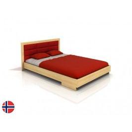 Manželská postel 160 cm - Naturlig - Stjernen (borovice) (s roštem)