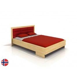 Manželská postel 160 cm - Naturlig - Stjernen High (borovice) (s roštem)