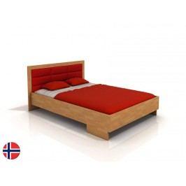 Manželská postel 160 cm - Naturlig - Stjernen High (buk) (s roštem)