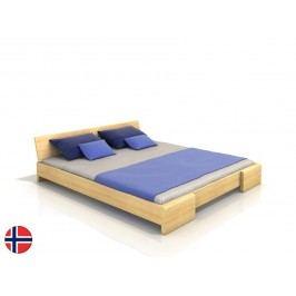 Manželská postel 160 cm - Naturlig - Blomst (borovice) (s roštem)