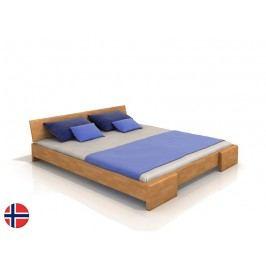 Manželská postel 180 cm - Naturlig - Blomst (buk) (s roštem)