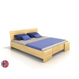 Manželská postel 200 cm - Naturlig - Blomst High (borovice) (s roštem)