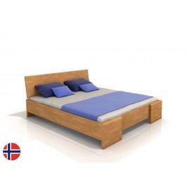 Manželská postel 200 cm - Naturlig - Blomst High (buk) (s roštem)