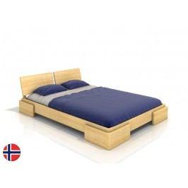 Manželská postel 180 cm - Naturlig - Jordbaer (borovice) (s roštem)