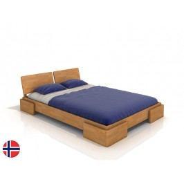 Manželská postel 180 cm - Naturlig - Jordbaer (buk) (s roštem)