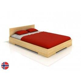 Manželská postel 200 cm - Naturlig - Kirsebaer (borovice) (s roštem)