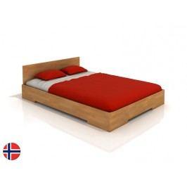 Manželská postel 200 cm - Naturlig - Kirsebaer (buk) (s roštem)