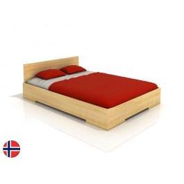 Manželská postel 160 cm - Naturlig - Kirsebaer High (borovice) (s roštem)