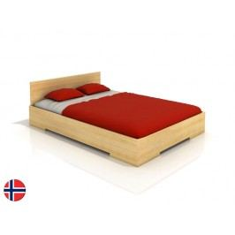 Manželská postel 200 cm - Naturlig - Kirsebaer High (borovice) (s roštem)