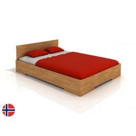 Manželská postel 200 cm - Naturlig - Kirsebaer High (buk) (s roštem)