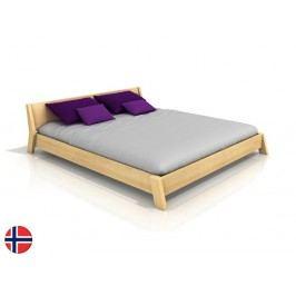 Manželská postel 180 cm - Naturlig - Skjolden (borovice) (s roštem)