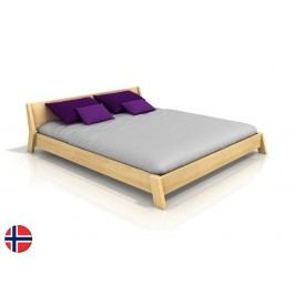 Manželská postel 200 cm - Naturlig - Skjolden (borovice) (s roštem)