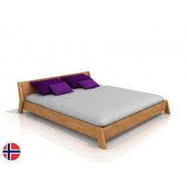 Manželská postel 160 cm - Naturlig - Skjolden (buk) (s roštem)