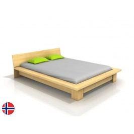 Manželská postel 160 cm - Naturlig - Boergund (borovice) (s roštem)