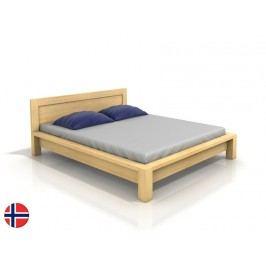 Manželská postel 200 cm - Naturlig - Fjaerland (borovice) (s roštem)