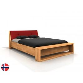 Manželská postel 160 cm - Naturlig - Ervik (buk) (s roštem)