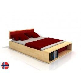 Manželská postel 200 cm - Naturlig - Invik (borovice) (s roštem)