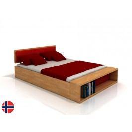 Manželská postel 200 cm - Naturlig - Invik (buk) (s roštem)